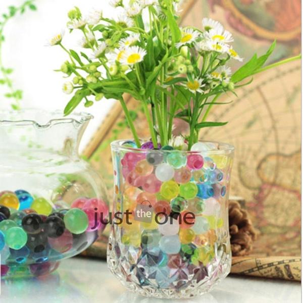 Wish 5 Bags 3g Magic Crystal Soil Hydrogel Beads Flower Vase Cute