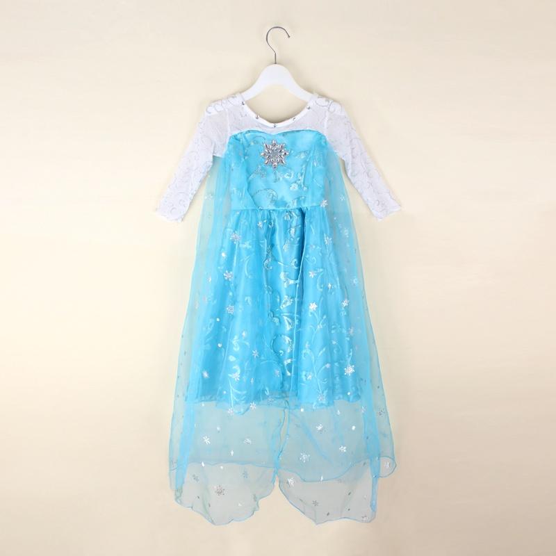 produit robe pour les filles manches manches longues matire coton polyester couleur comme image taille 110 120 130 140 150 apte 3 10 ans