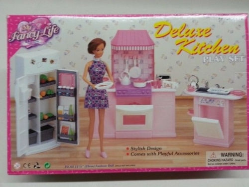 Wish | Gloria,Barbie Doll Furniture/(9986) My Fancy Life Deluxe Kitchen