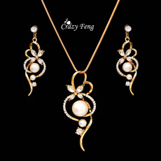 Necklace, silver plated, pearl jewelry, goldplatedjewerly
