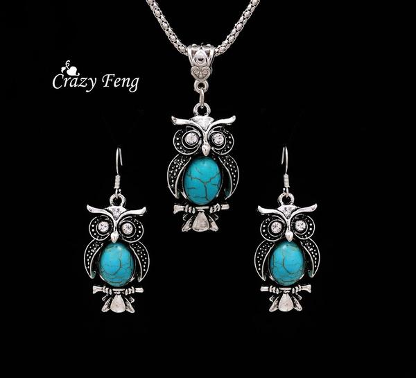 Owl, Turquoise, Jewellery, motherdaysgift