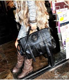 Clothing & Accessories, skull, handbags purse, Shoulder Bags