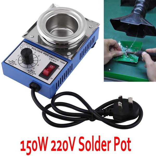 ... Wish New Home Hand Tools Pro sKit 220 550 Titanium Plating Stainless Steel Solder Pot Temperature
