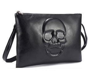 Shoulder Bags, Fashion, skull, leather