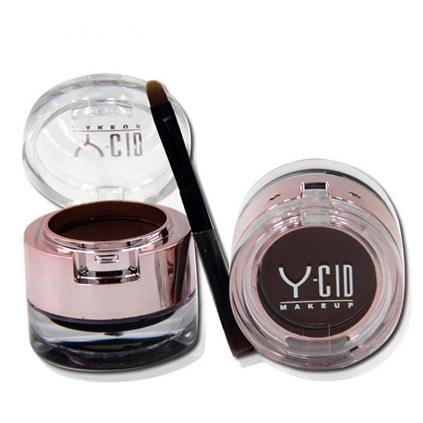 Picture of New 2 In 1 Eyebrow Powder +Eyeliner Gel With Brush Long Lasting Waterproof