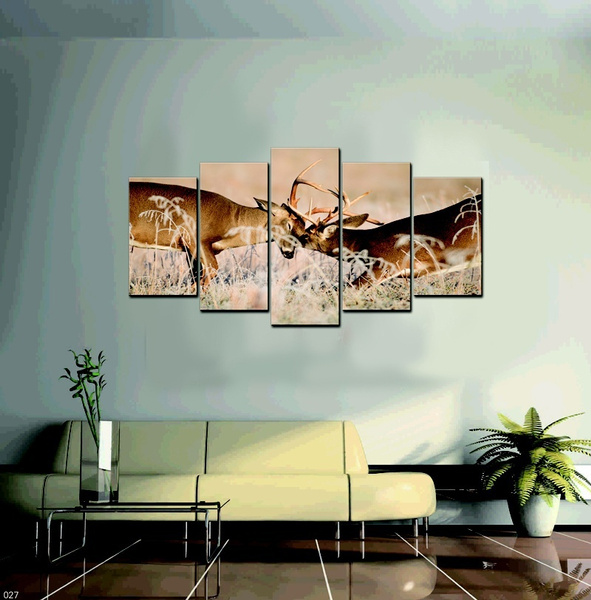 Wish   5 Piece Canvas Art The figure of Buddha Modern Picture Wall Panel Home Decorative Canvas Prints On Canvas Prints (FrameNo) & Wish   5 Piece Canvas Art The figure of Buddha Modern Picture Wall ...