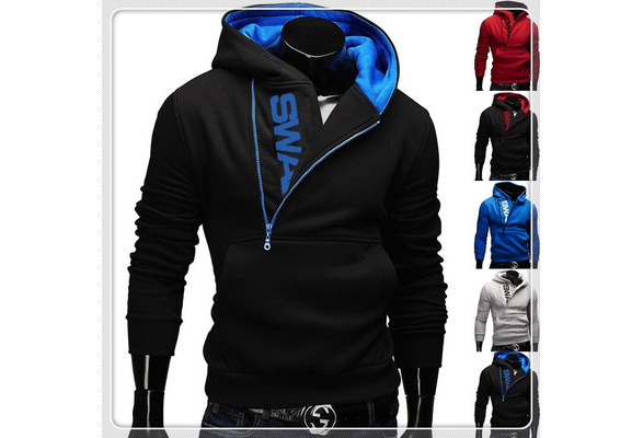 Winter Cotton Hoodies Mens