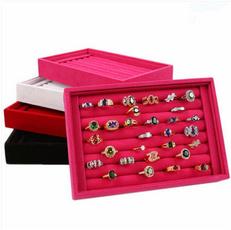 Box, Jewelry, earringstray, ringtraining