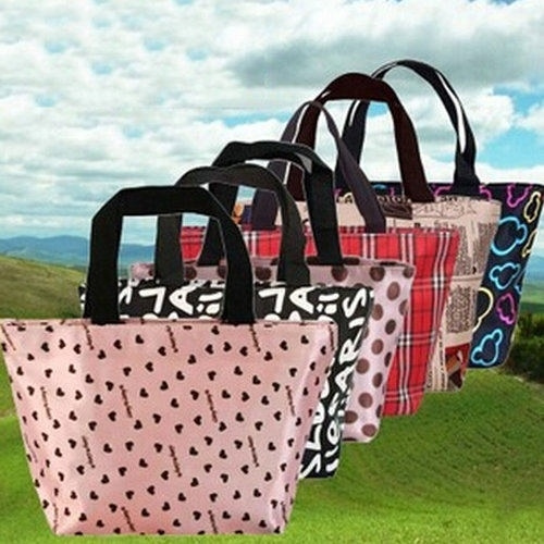 Picture of Convenient Thermal Outdoor Waterproof Warmth Lunch Box Storage Picnic Bag Pouch Portable