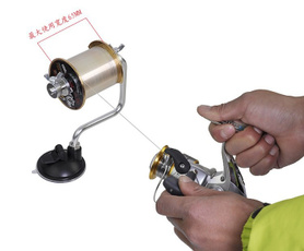 Goture Fishing Lure Tackle Accessory Line Bobbin/Spool Winder Winding Device 14CM 130G (Fishing Line Not Included)