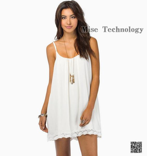 Summer Clothes Women Sexy Lace Skirt Fine Aglet Snow Spins Dress Skirt