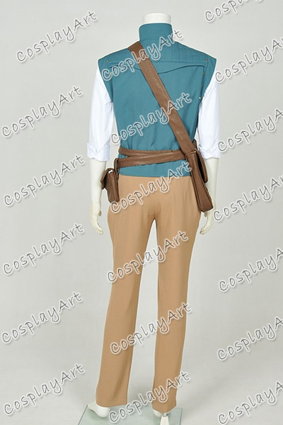 wish tangled rapunzel cosplay thief flynn rider costume movie halloween suit uniform