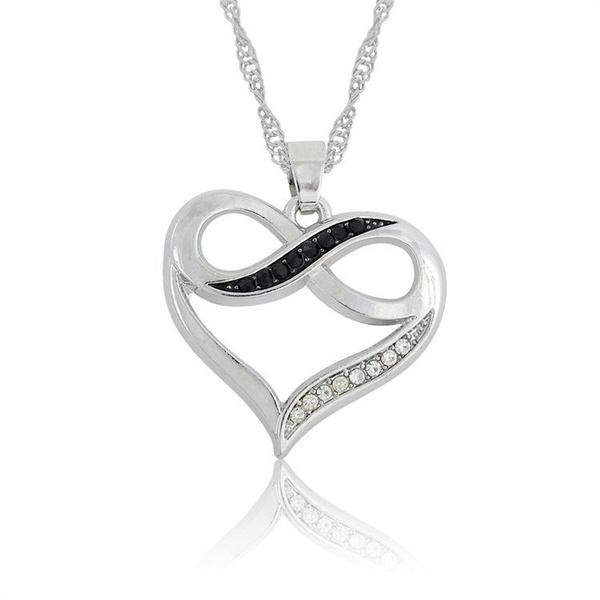 Heart, crystal pendant, Love, Jewelry