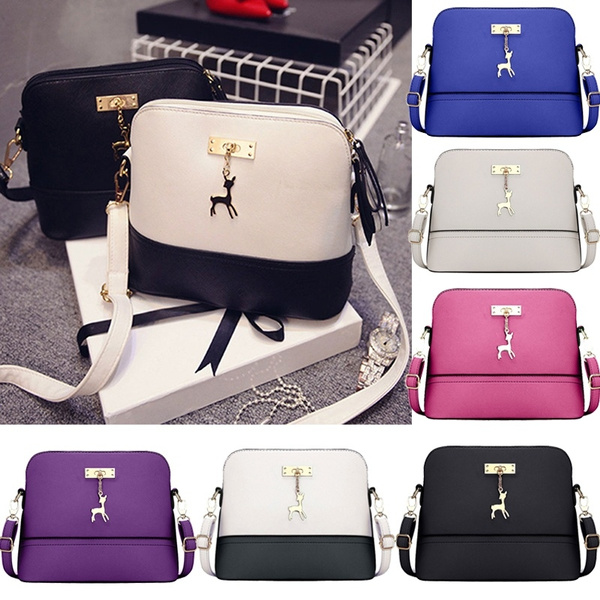 Picture of Women Fashion Pu Leather Shoulder Bag Handbag Tote Satchel Hobo Crossbody Bags Bag Size 26cm X 20cm X11cm