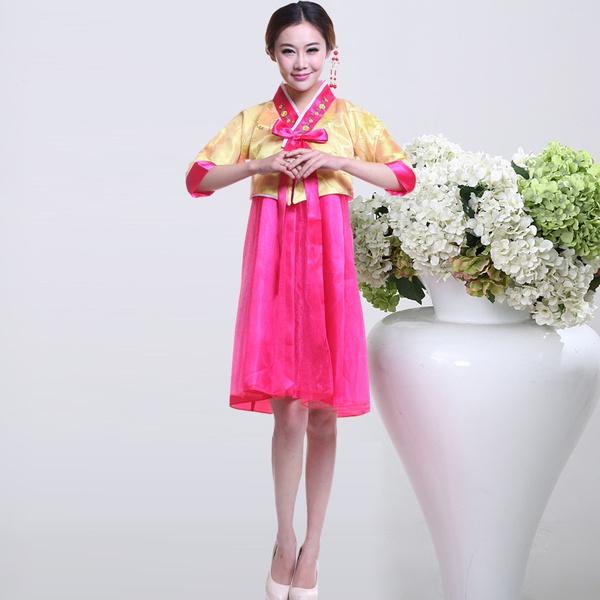 Wish Hanbok Dress Korean Traditional National Costume Clothing For Women