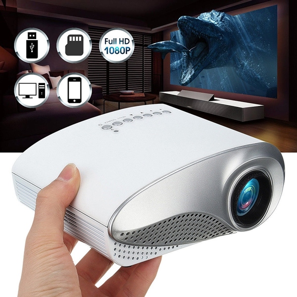 Picture of Mini Home Multimedia Cinema Led Projector Hd 1080p Support Av Tv Vga Usb Hdmi Sd Proyector
