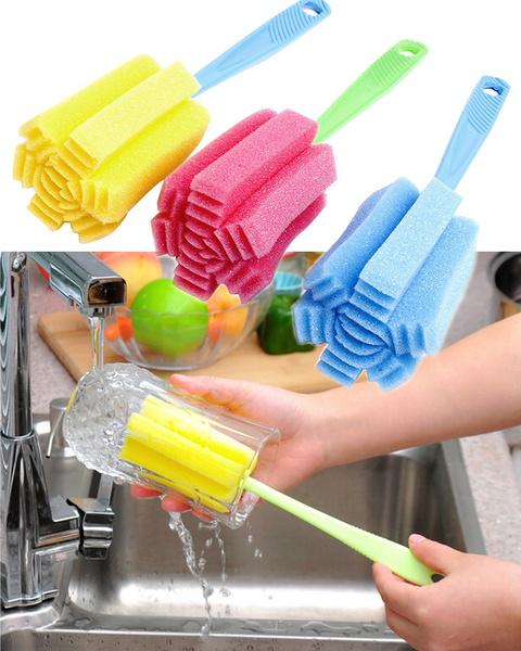 wineglassbrush, Kitchen & Dining, Cleaning Supplies, Tea