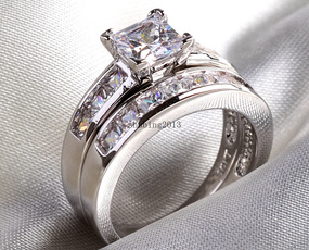 White Gold, Diamond Jewelry, Sterling Silver Jewelry, Bridal