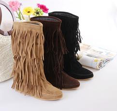 Flats, Tassels, Fashion, Winter