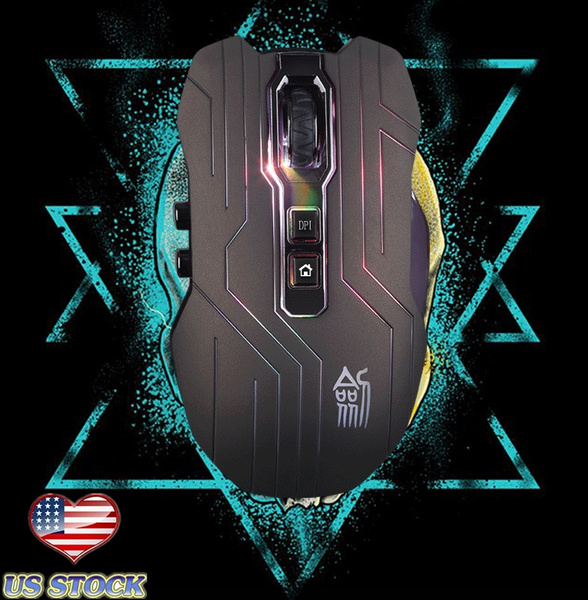 Picture of E-3lue 6d Mazer Ii 2500 Dpi Blue Led 2.4ghz Wireless Optical Gaming Game Mouse Size 9d 3200dpi Color Green