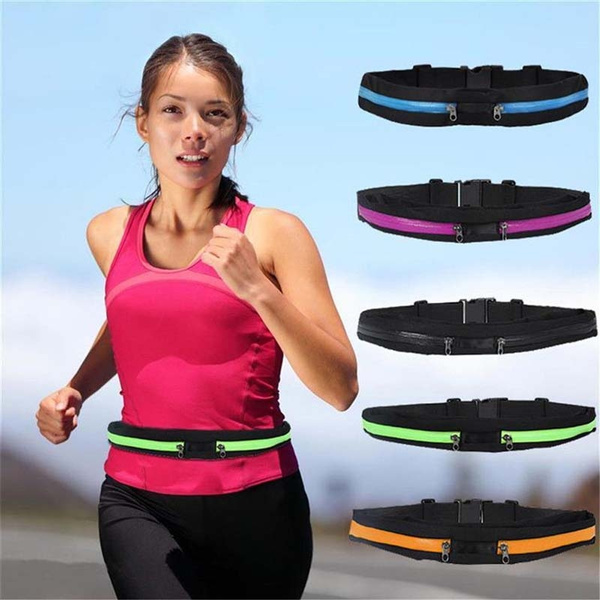 Picture of Runner Fitness Running Cycling Waist Bag Mobile Phone Expandable Money Belt Fanny Pack