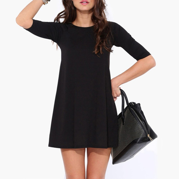 Picture of Women Half Sleeve Casual Dress