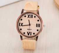 geek | Explosion Models Of Vintage Wood Grain Rome Scale Watch Fashion And Popular Men And Women Watches