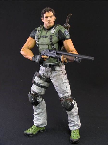 Resident Evil 5 Chris Redfield Action Figure Biohazard Game