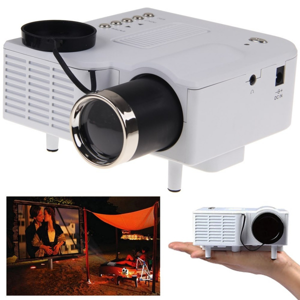 Picture of Uc28 Cinema Theater Multimedia Led Lcd Projector Pc Av Vga Usb Hdmi Hd1080p Wh M