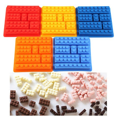 Silicone Ice Cube Tray Freeze Mould Creative Homemade Cake Jelly Chocolate Mold Random Color