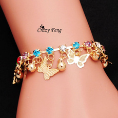 butterfly, goldplated, Fashion, Jewelry