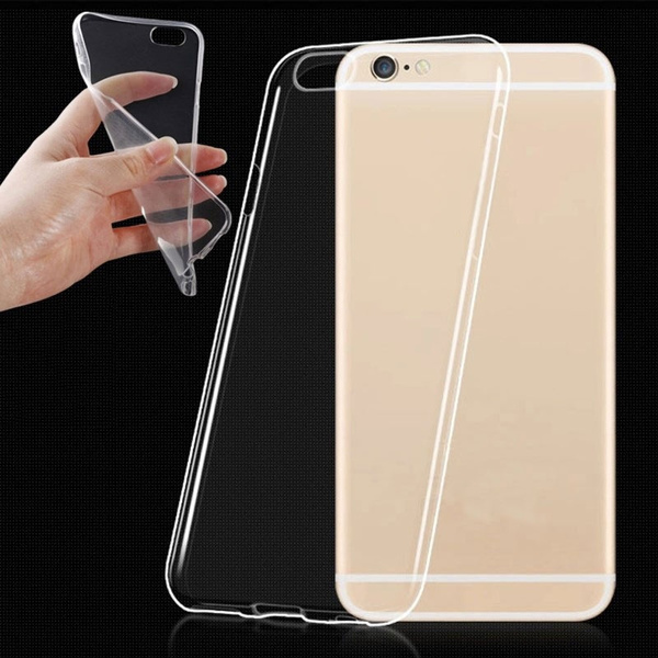Picture of Ultra Thin Transparent Clear Tpu Silicone Gel Soft Case Skin Cover For 5/5s/6/6 Plus/6s/6s Plus/7/7 Plus