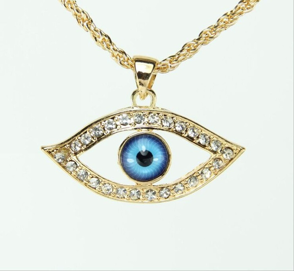 Trendy Evil Eye Pendant Lucky Jewelry