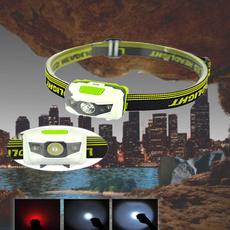 LED Headlamp Lightweight Comfortable Headlight Hiking Fishing Camping Flashlight