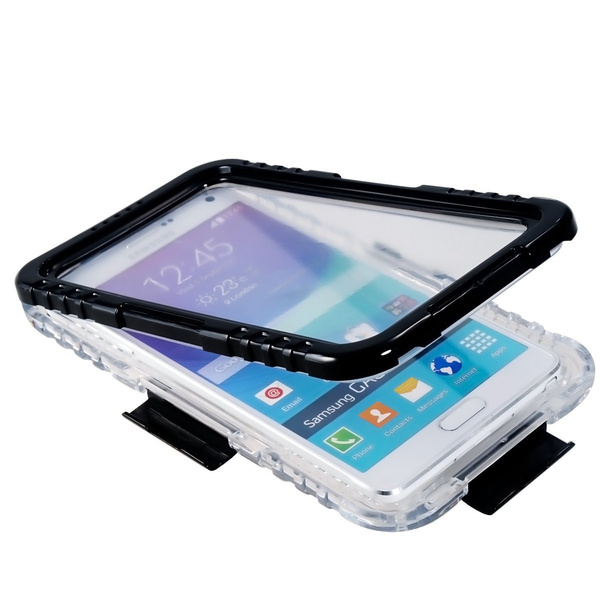 huge discount 479eb 2d40d Galaxy Note 4 Waterproof Case, Waterproof, Dust Proof, Snow Proof, Shock  Proof Case with Touched Transparent Screen Protector, Waterproof Protection  ...