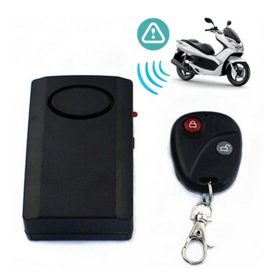 Picture of Motorcycle 120db Anti-theft Security Alarm Safe System Vibration Detector-sh Color Black