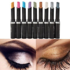 New Glitter Eye Shadow Lip Liner Eyeliner Pen Pencil Cosmetic Makeup Multi Color