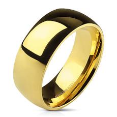 goldplated, wedding ring, gold, Classics
