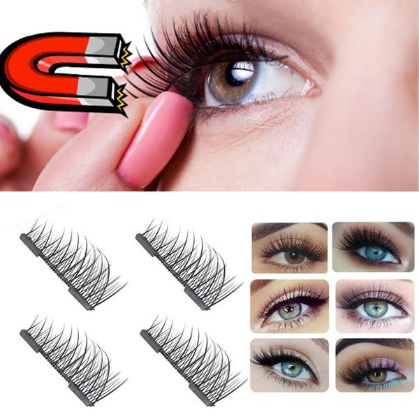 Picture of Charming Long Cross 10 Pairs False Eyelashes Eye Lashes Professional Makeup