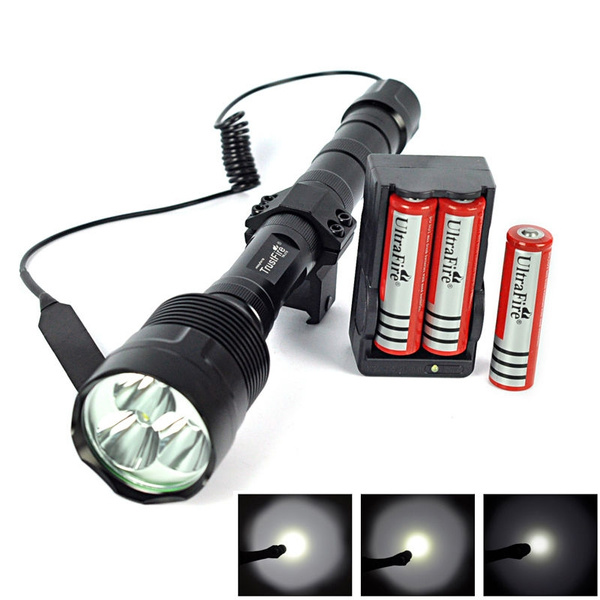 Remote Pressure Switch for 3X XML T6 LED 3T6 Tactical Flashlight Torch