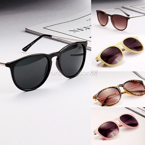 Picture of Retro Women's Oversized Metal Frame Sunglasses Fashion Shades Eyewear Uv400