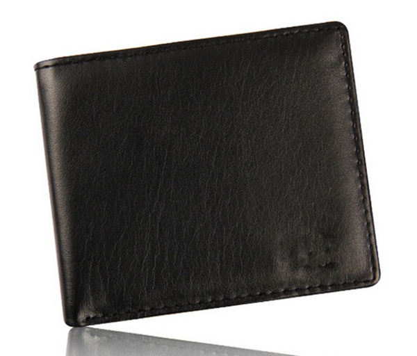 Picture of Leather Wallet Pocket Coin Card Money Holder Clutch Slim Purse