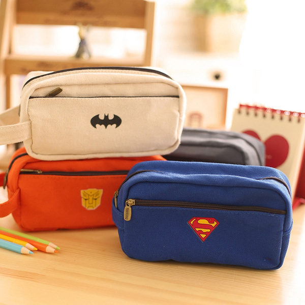 Picture of Lovely Hero Series Pen Large Capacity Multifunctional Stationery Bag Pencil Box Prize For Students