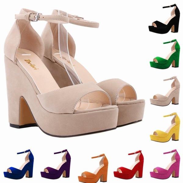 Picture of Sexy High Heels Platform Shoes Pumps Women's Dress Fashion Wedding Shoes Lady Pump