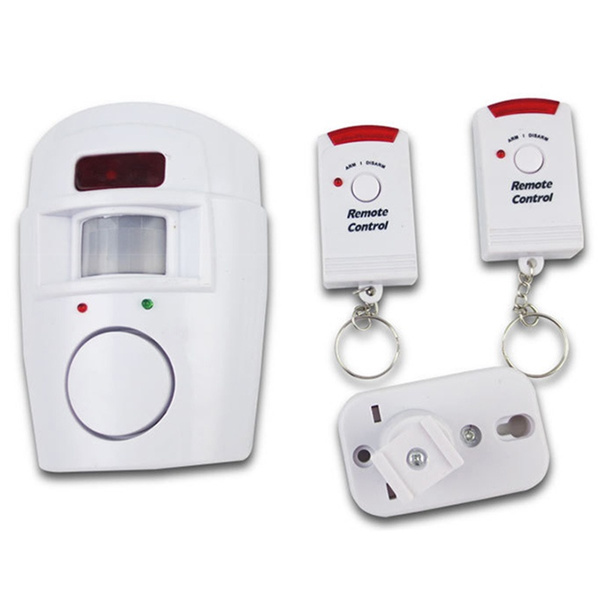 Picture of Remote Control Wireless Infrared Alarm Detector Anti-theft Alarm Burglar Alarms Useful