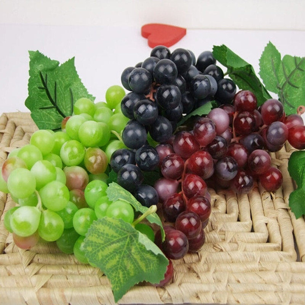 Plastic, Decor, Home Decor, artificialgrape
