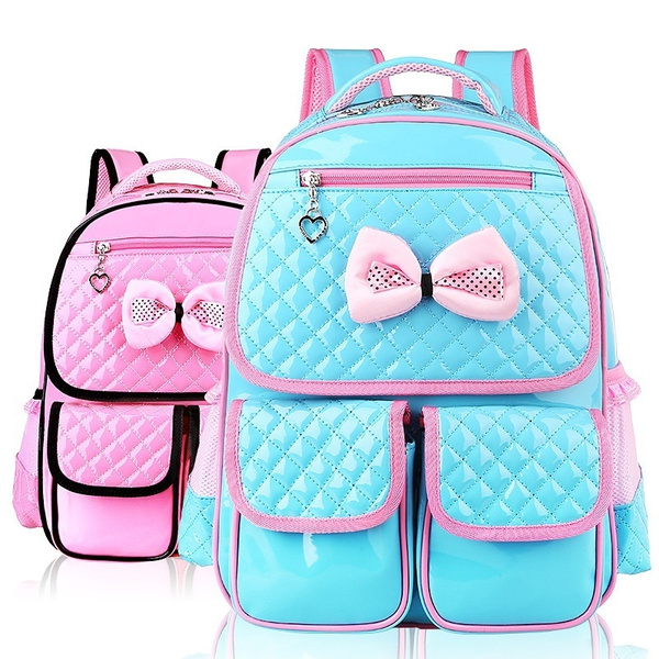 Picture of Students Pa Leather Spinal College Schoolbag Backpack 293812cm