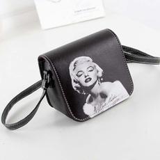 Shoulder Bags, Small, Fashion, PU
