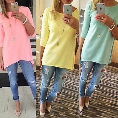blouse, Mini, Fashion, longtop