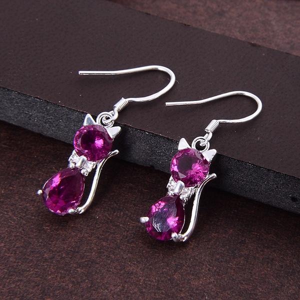 Fashion, Jewelry, Hoop, silver